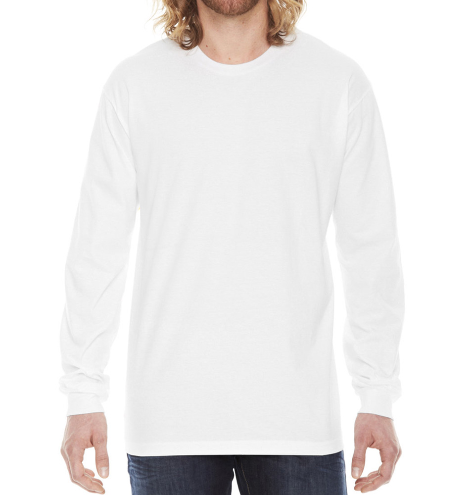 American Apparel Fine Jersey Long-Sleeve Shirt