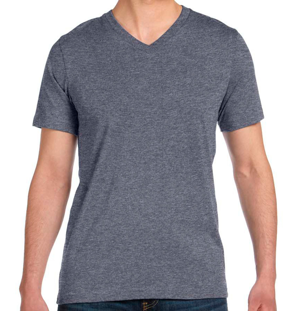 1f1fe2555ce3 Custom V-Neck T-Shirts - Super Fast & Easy. No Minimums.