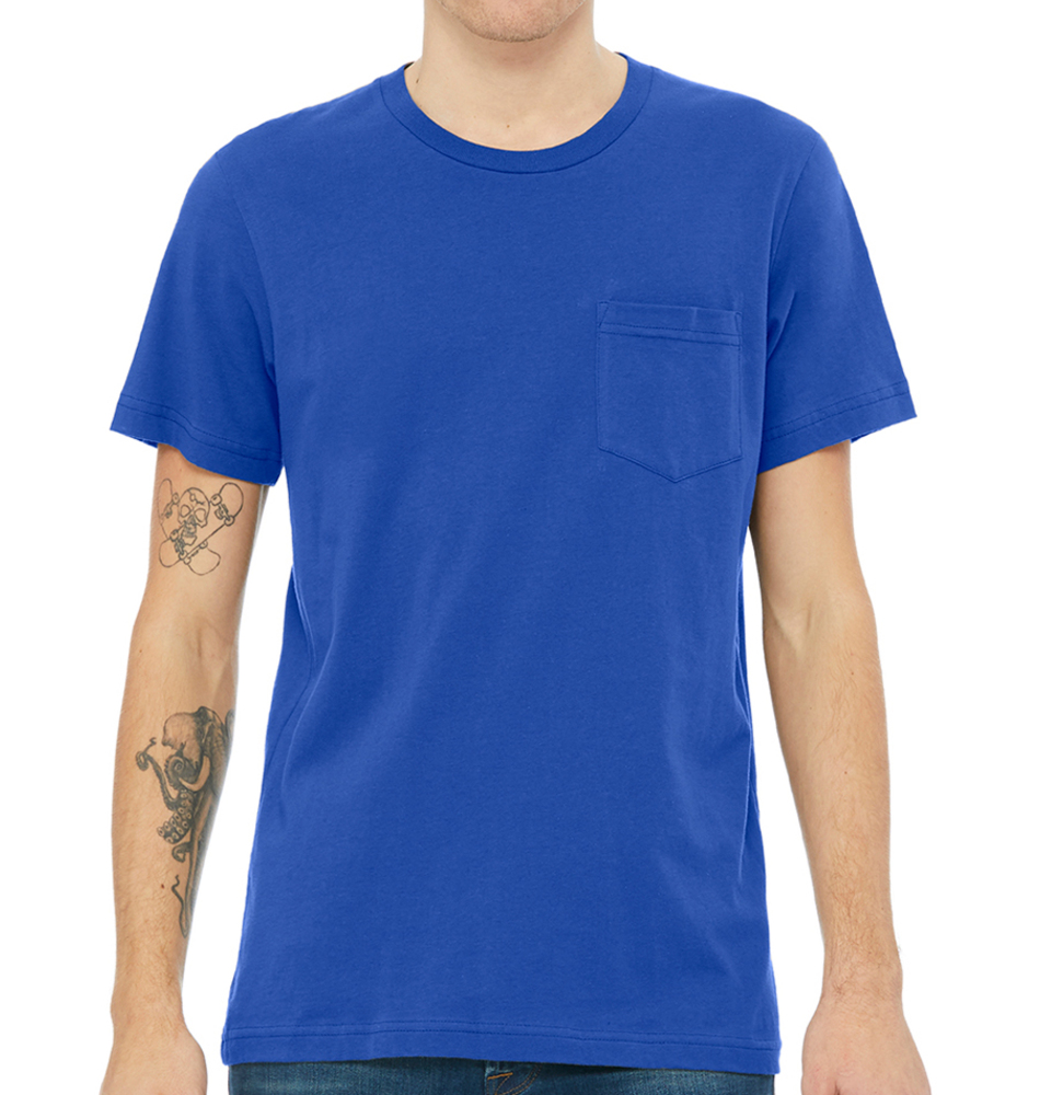 Bella + Canvas Men's Jersey Pocket T-Shirt
