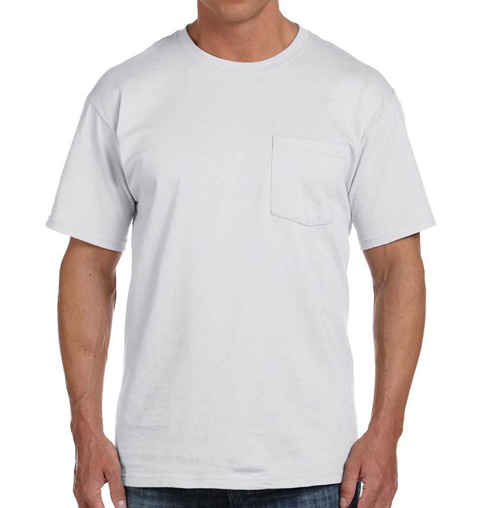 Fruit of the Loom Short Sleeve Pocket T-Shirt