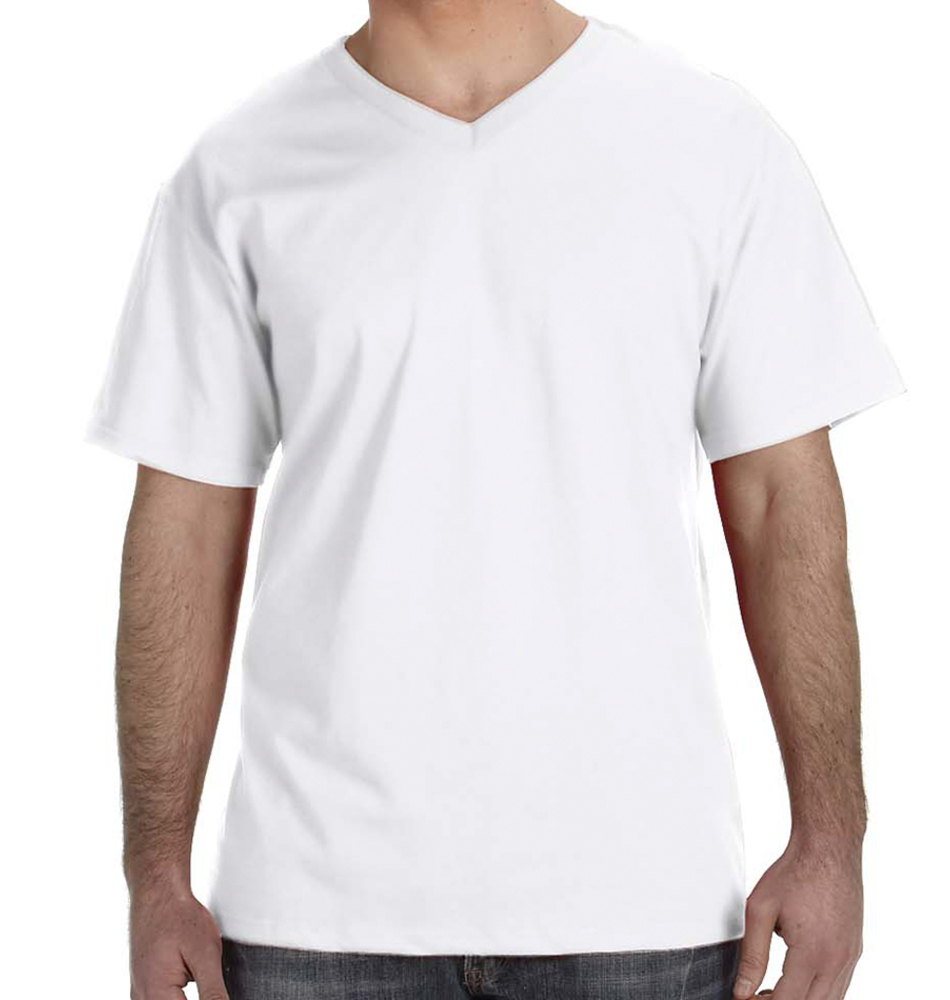 cee1fc415ee1 Custom V-Neck T-Shirts - Super Fast & Easy. No Minimums.