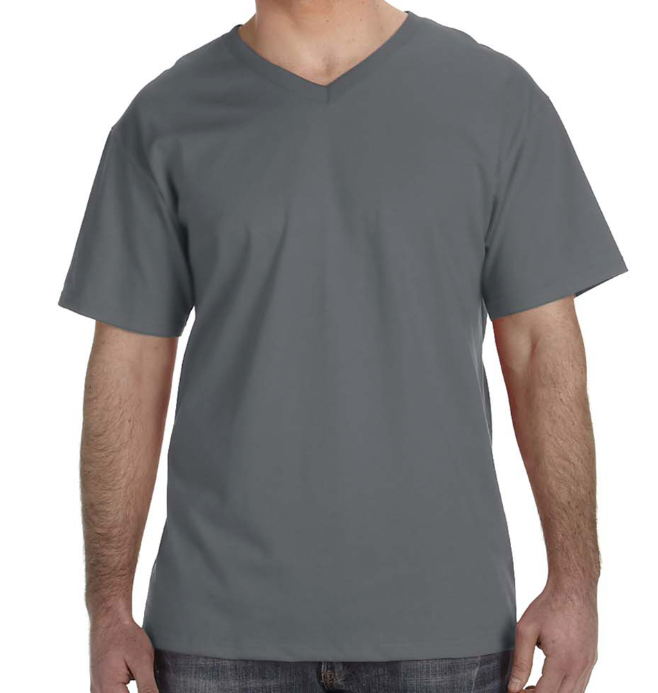 Fruit of the Loom V-Neck Shirt for Men