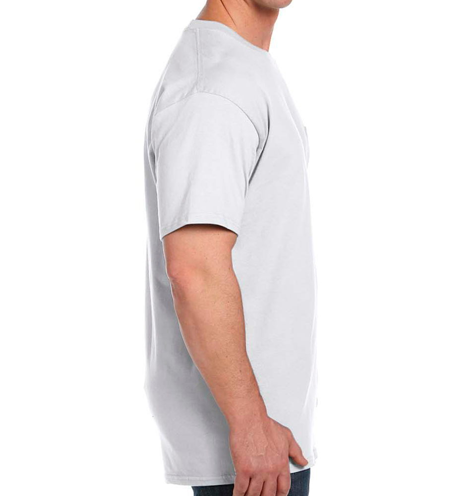 83a5df5b5 Custom Hanes Beefy-T® with Pocket | RushOrderTees®