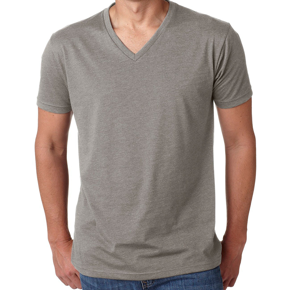 Next Level Cotton Blend V-Neck T-Shirt