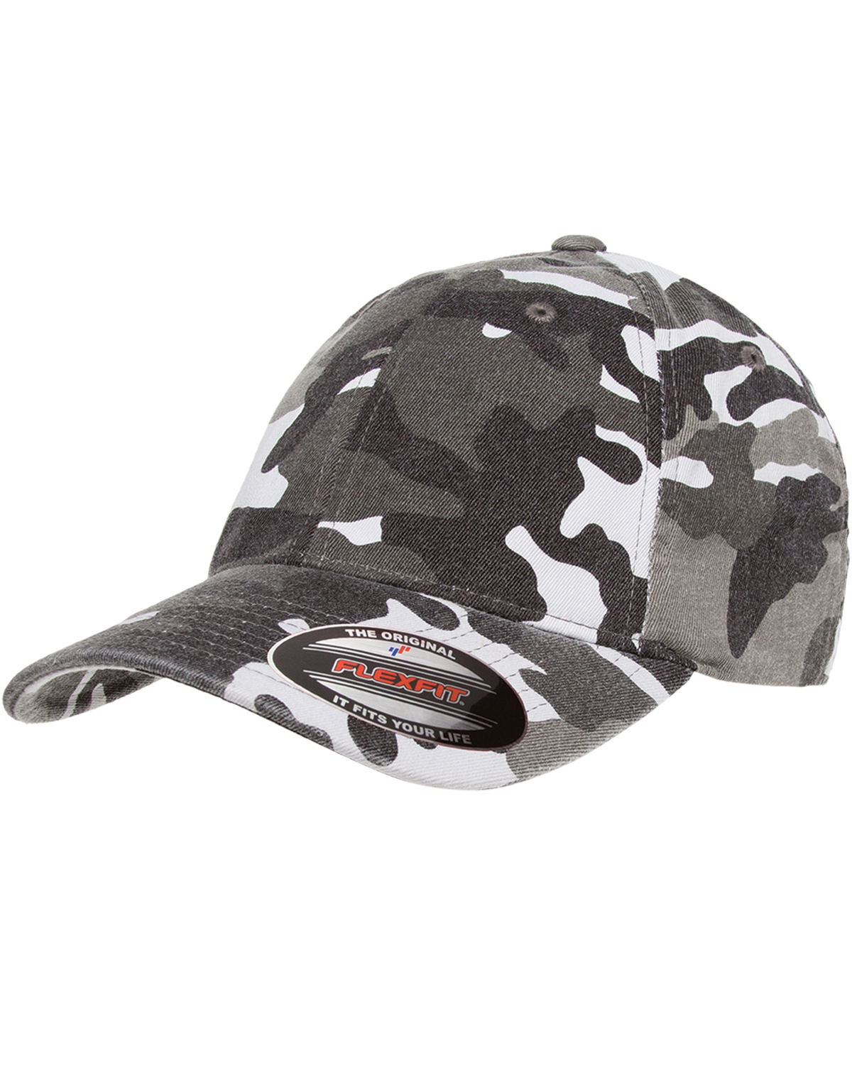 Flexfit Cotton Camo Baseball Hat