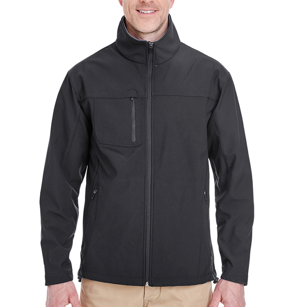 UItraClub Cadet® Collar Zip Up Jacket
