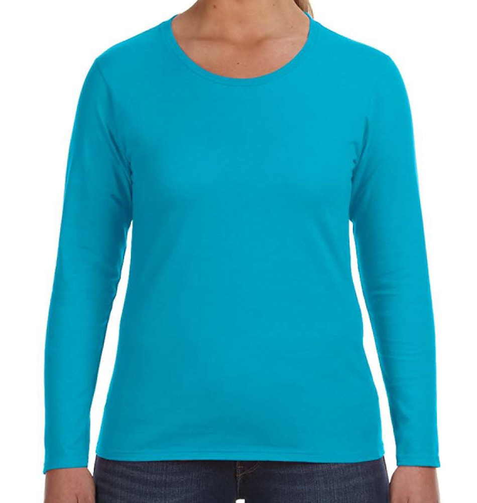 Anvil Women's Lightweight Long Sleeve Shirt