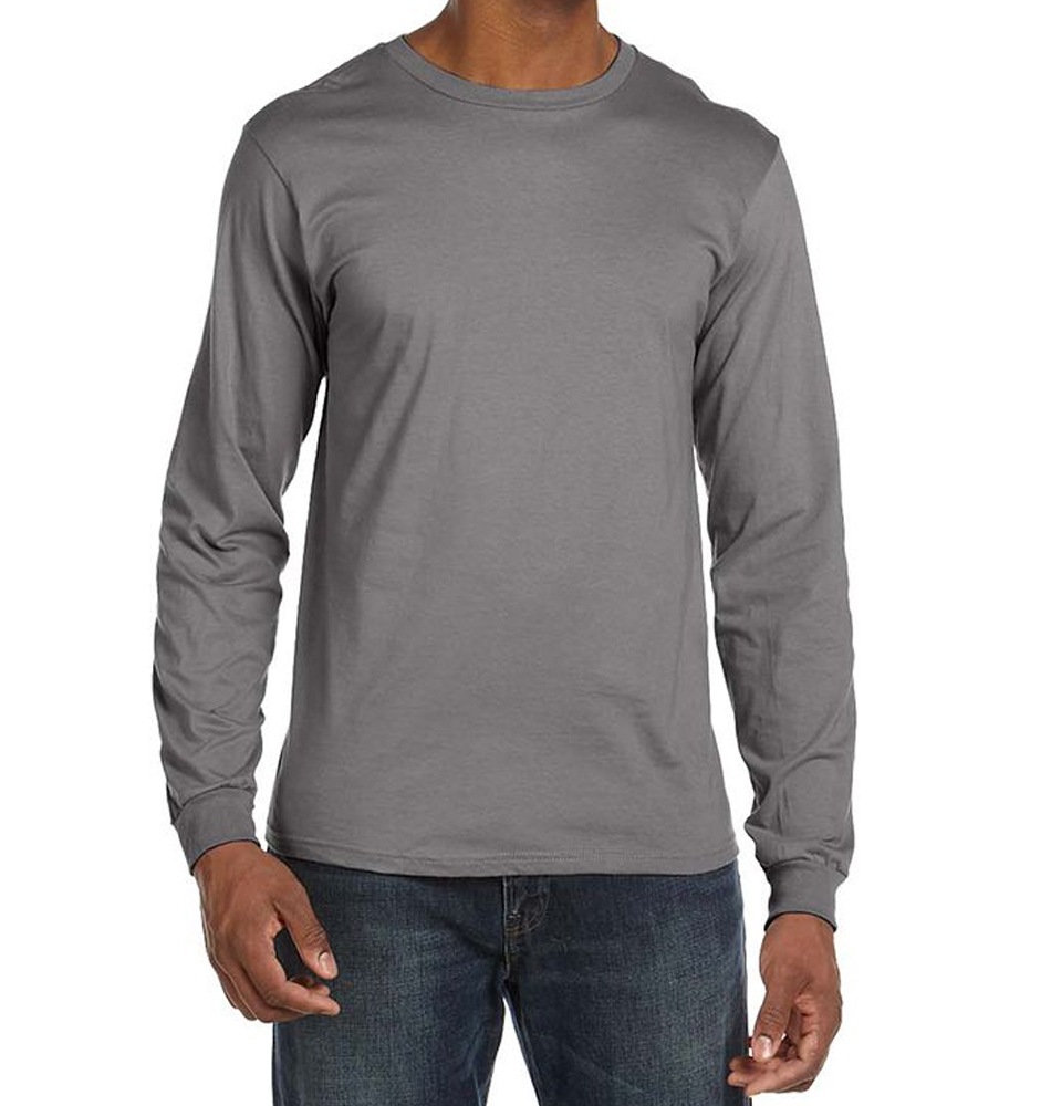 Anvil Fitted Lightweight Long Sleeve Shirt