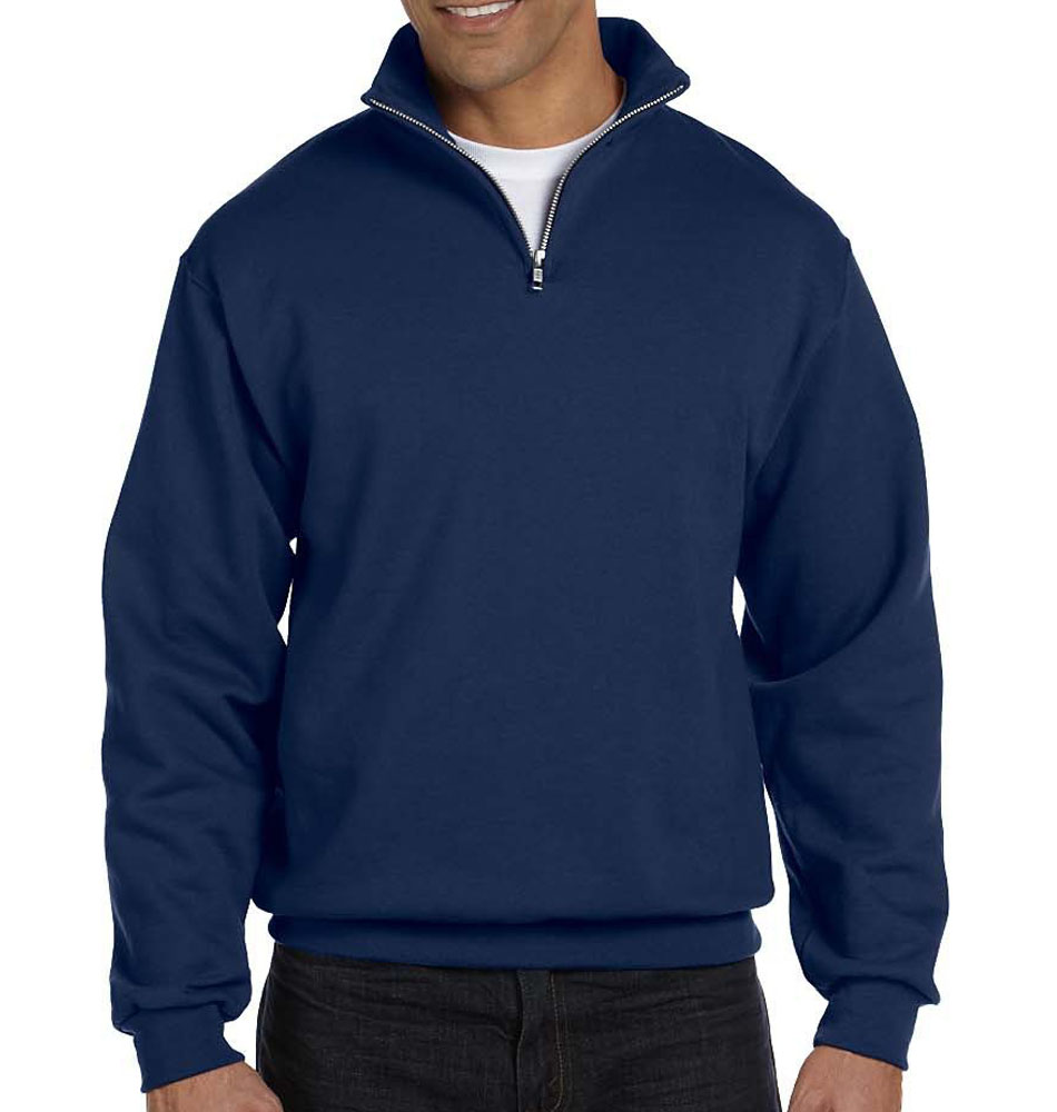 Jerzees Cadet Collar Quarter Zip Pullover