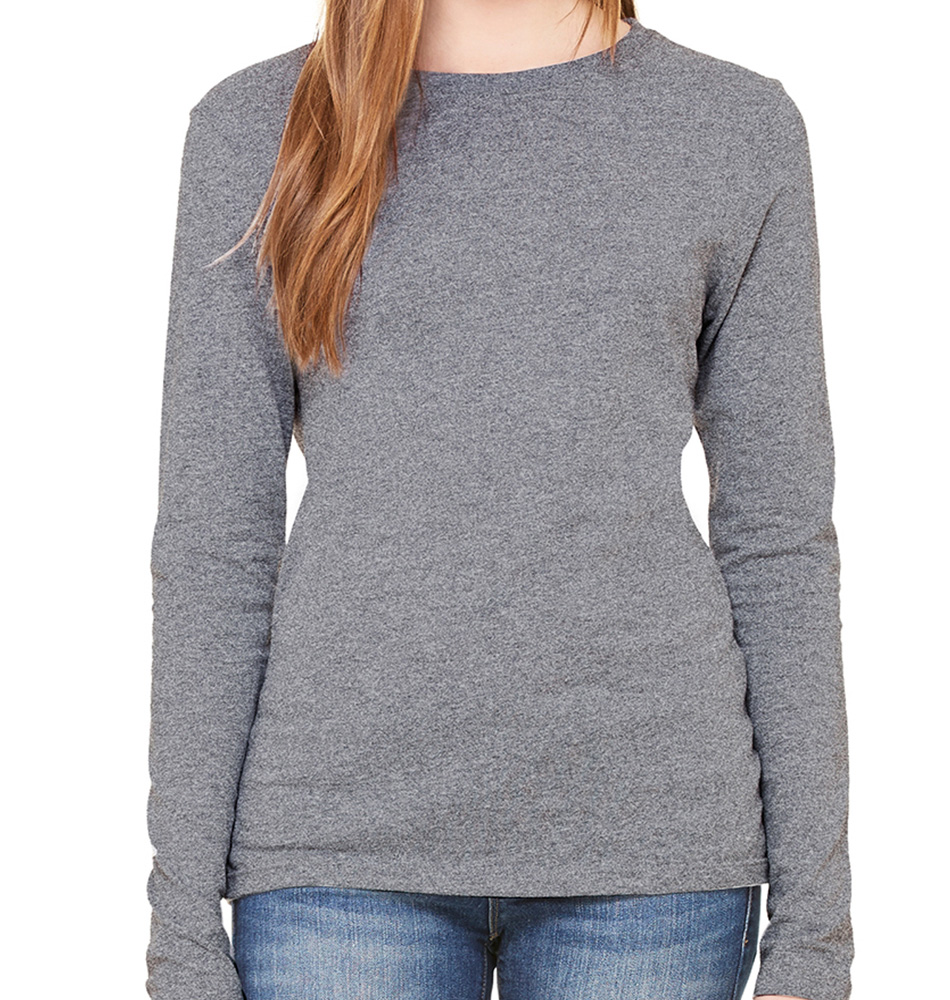 Bella + Canvas Women's Long-Sleeve Jersey Shirt