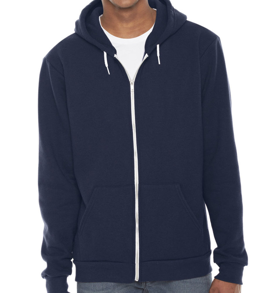 American Apparel Fleece Zip Up Hoodie
