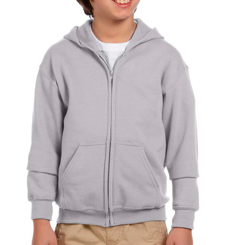 Gildan Kids' Heavy Blend™ Zip Up Hoodie
