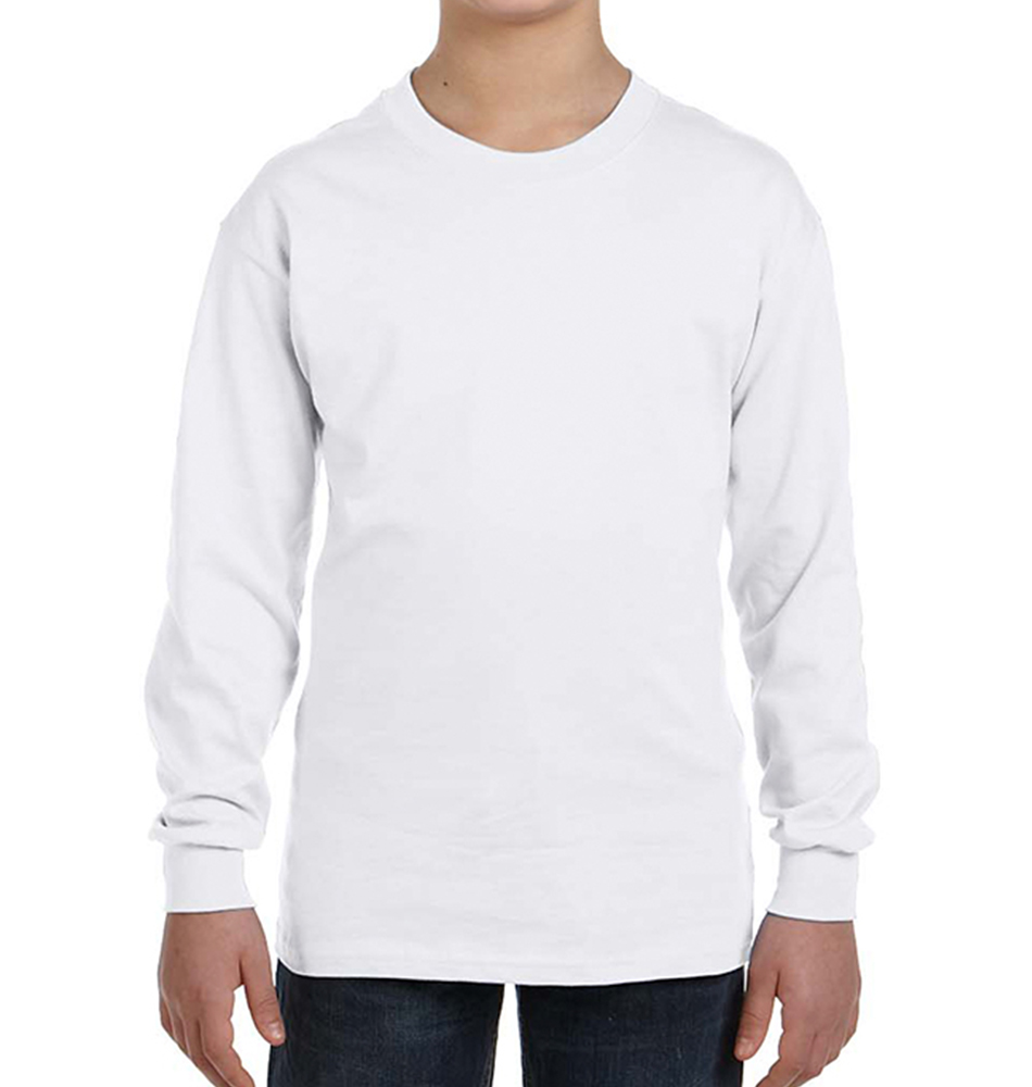 Gildan Heavy Cotton Kids' Long Sleeve Shirt