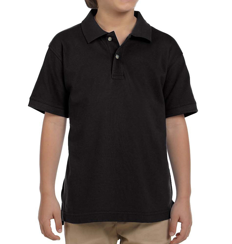 Harriton Cotton Piqué Kids' Polo Shirt