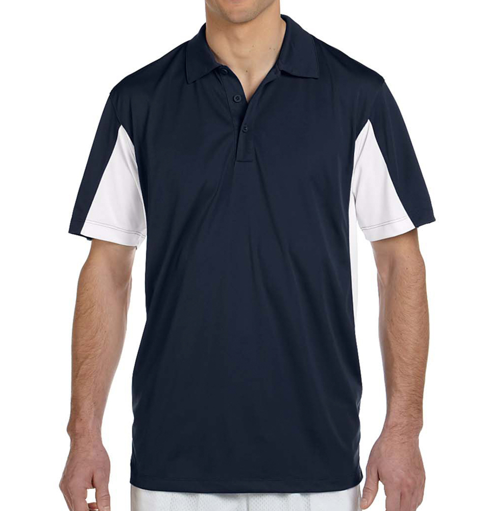 Harriton Side Blocked Pique Polo