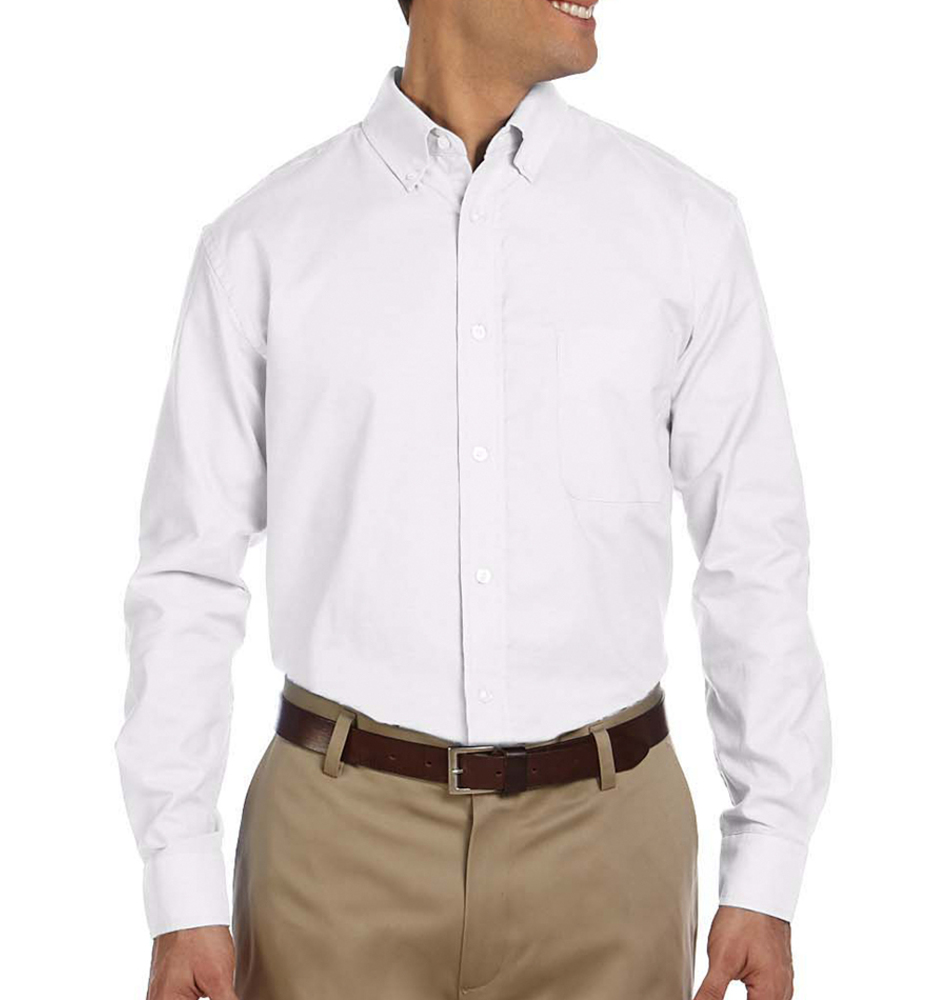 Custom Harriton Men S Oxford Shirt Rushordertees