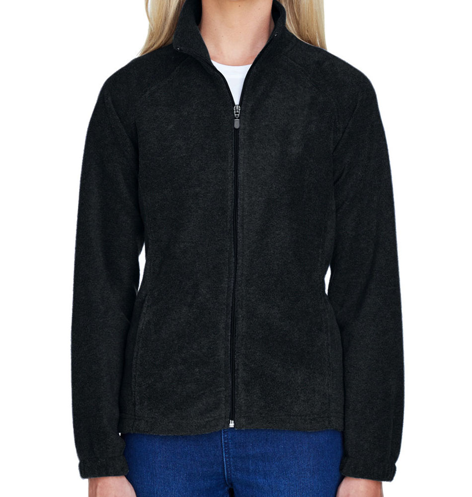 9b195c52a03 Harriton Women's Fleece Zip Up Jacket