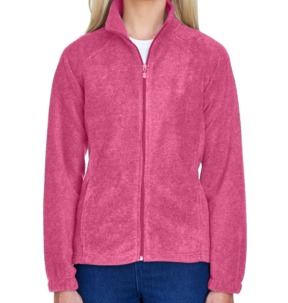 Harriton Women's Fleece Zip Up Jacket