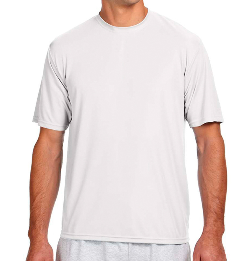 A4 Men's Short Sleeve Moisture Wicking Shirt