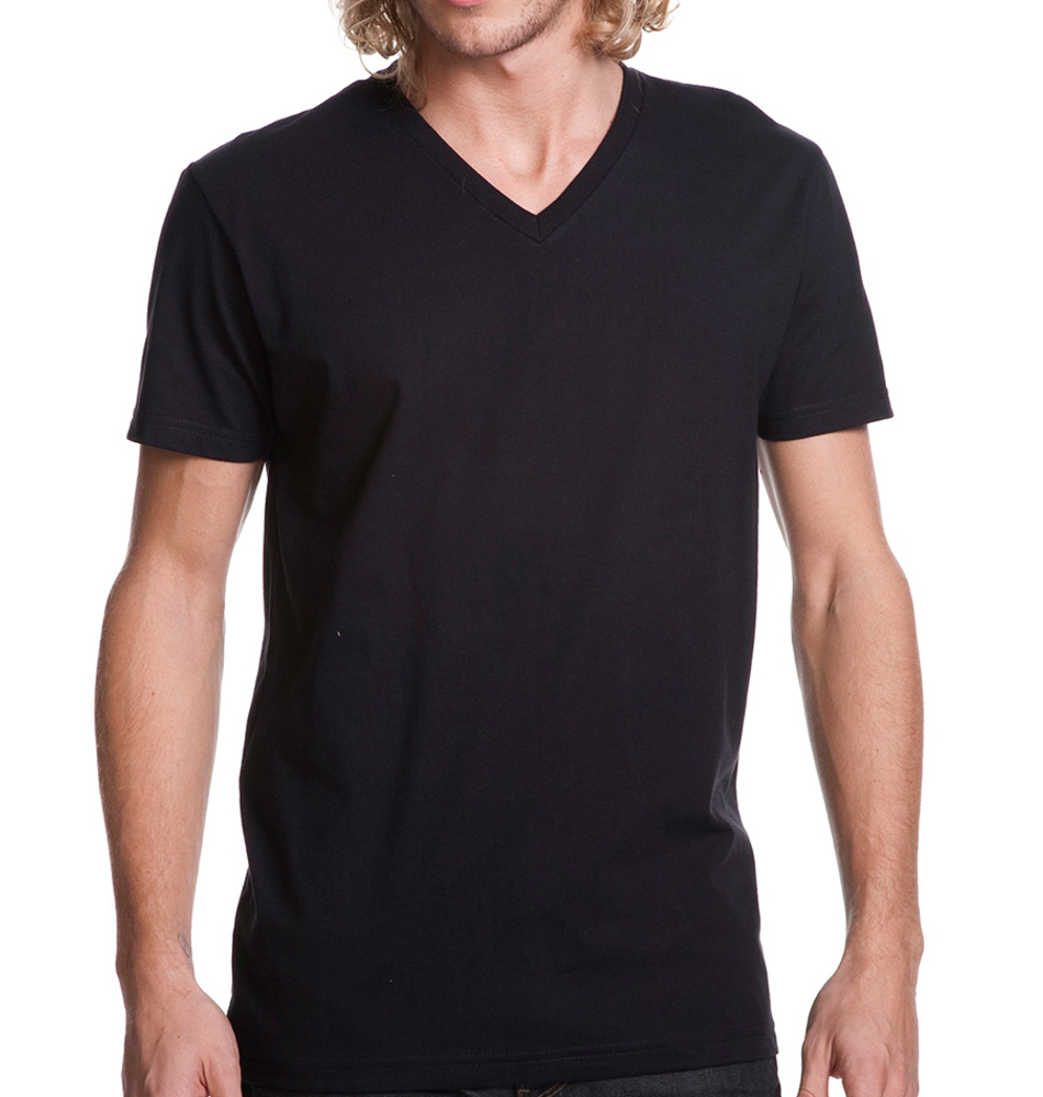 655c480cb928 Custom V-Neck T-Shirts - Super Fast & Easy. No Minimums.
