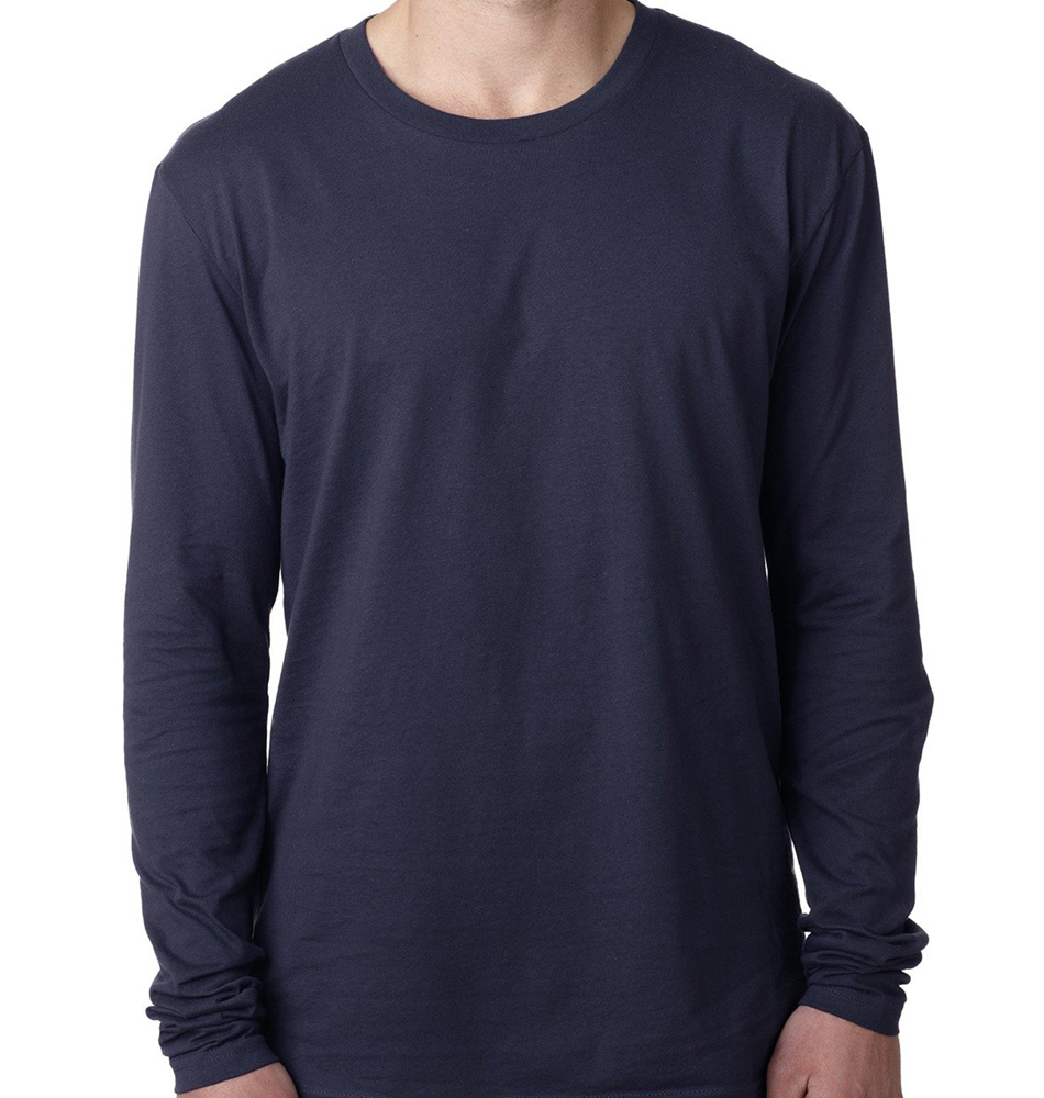 Custom Next Level Apparel Long Sleeve Crewneck