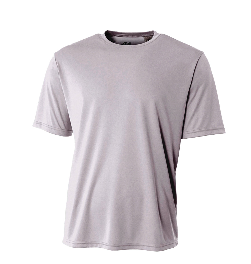 A4 Kids Short Sleeve Moisture Wicking Shirt