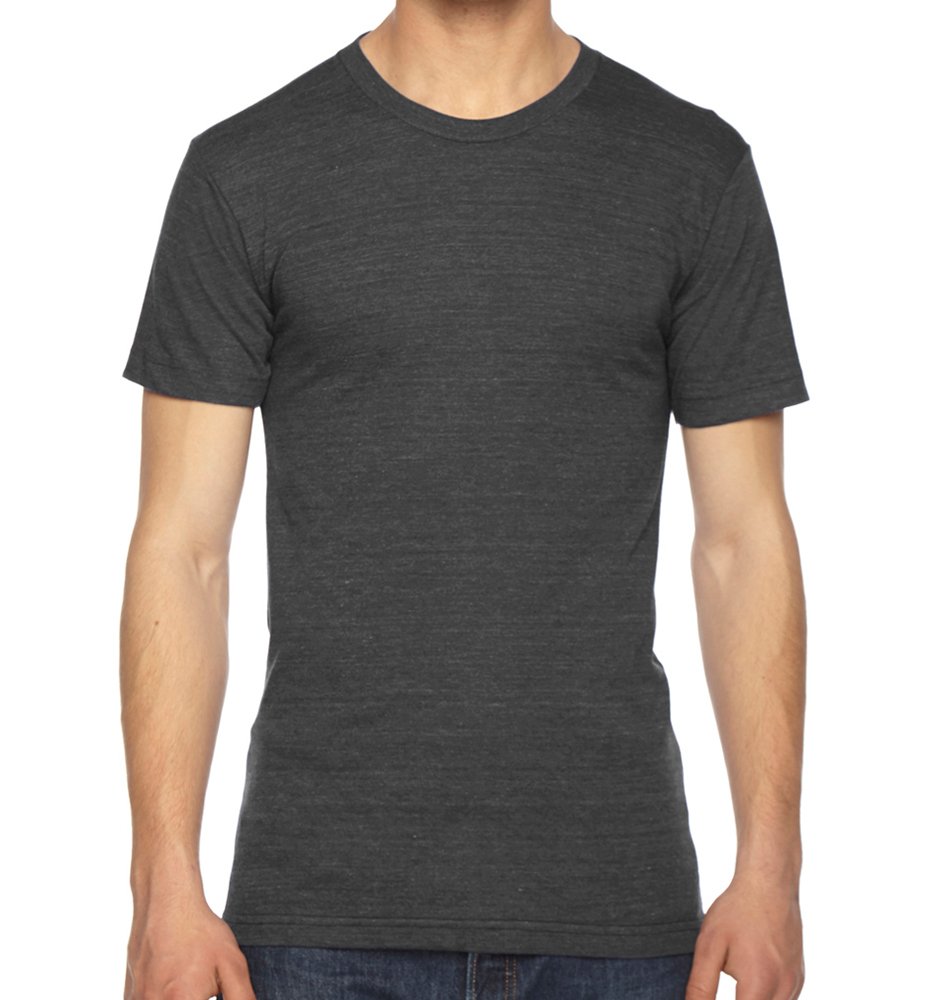 American Apparel USA Made Short-Sleeve Track T-Shirt